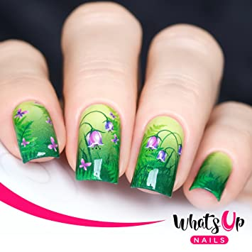 Whats Up Nails - P035 Spring Medley Water Decals Sliders for Nail Art Design