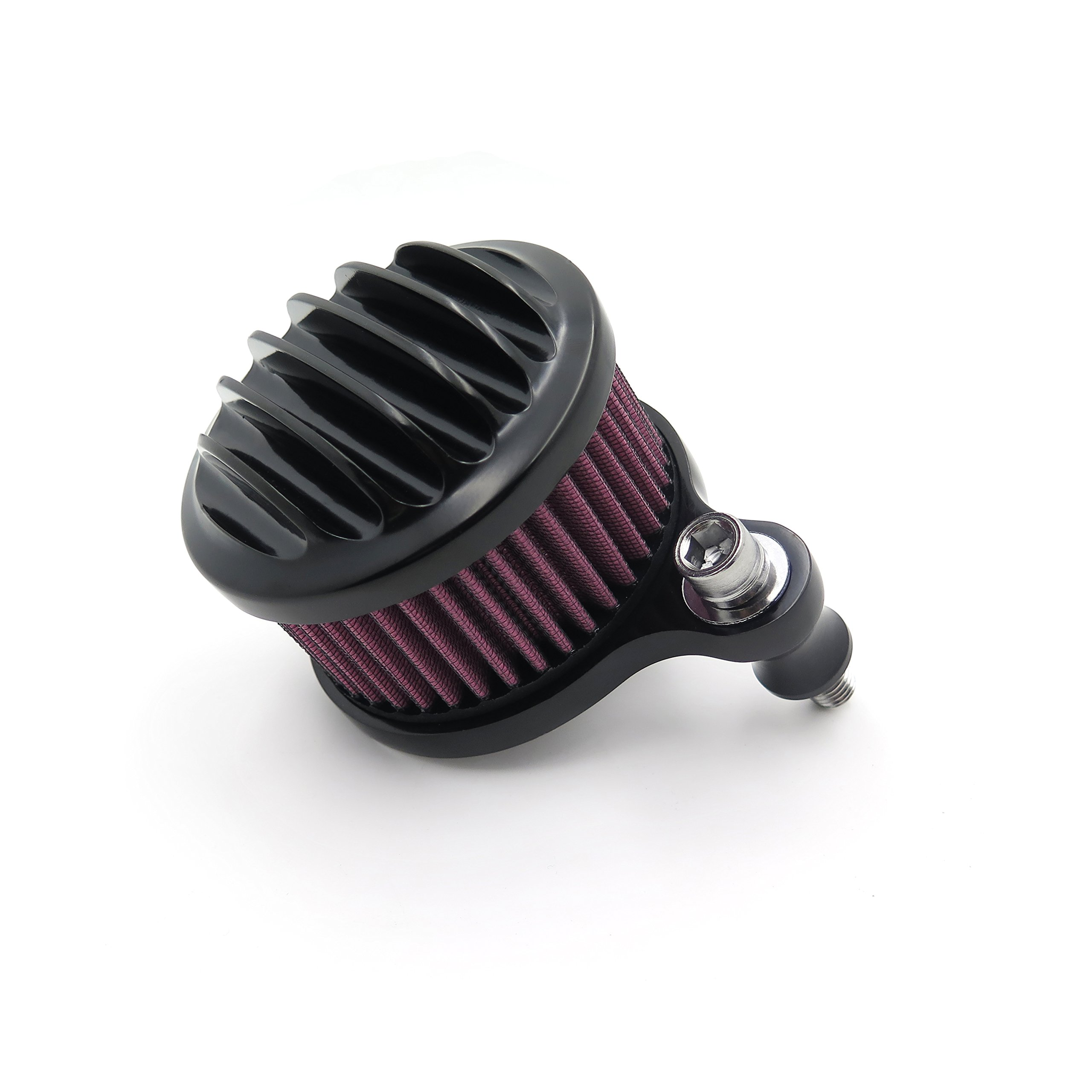Air Cleaner Intake Filter System Kit For Harley Sportster XL883 XL1200 1988-2015 Black See description for detail by TTMT