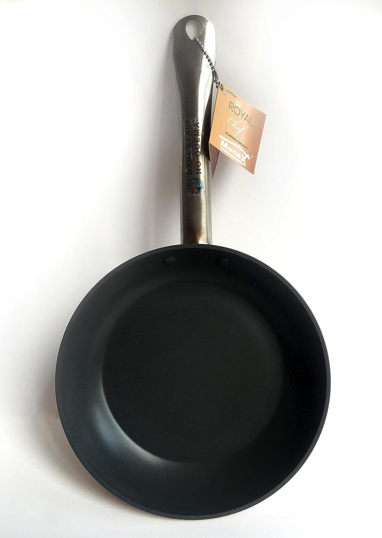 Royal Chef - Sartén Profesional de Aluminio Forjado - Recubrimiento Antiadherente Premium - Ø 28 cm: Amazon.es: Hogar
