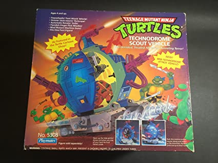 Amazon.com: TMNT Teenage Mutant Ninja Turtles technodrome ...