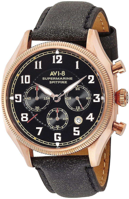 AVI-8 腕時計 SUPERMARINE SEAFIRE クォーツ クロノグラフ カレンダー メンズ AV-4025-04 [並行輸入品] B06WP7N7DC