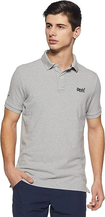 Superdry Classic Pique S/S Polo, Camisa de Pijama Para Hombre: Amazon.es: Ropa y accesorios