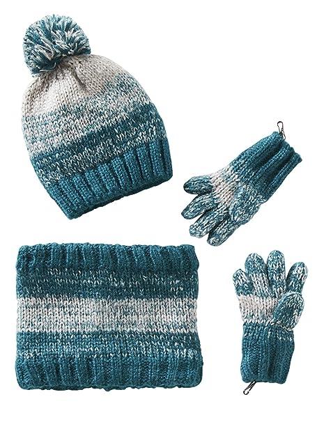 VERTBAUDET Gorro niño + snood + guantes o manoplas  Amazon.es  Ropa y  accesorios c4b32c77144