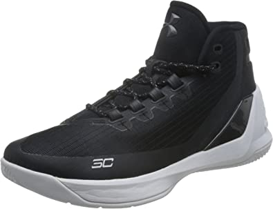 Under Armour Mens Curry 4 Basketball Shoes White Sports Breathable Lightweight