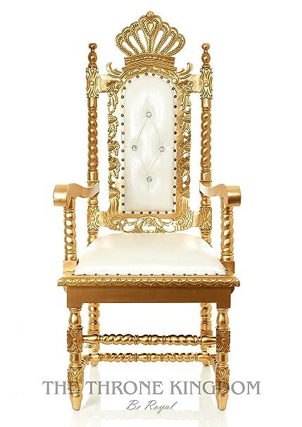 Amazon Crown Throne Chair High Back Throne Chair Kingqueen
