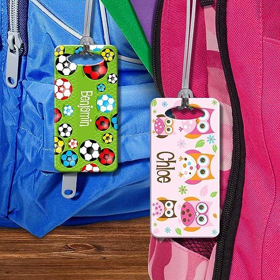 Dinkleboo Personalized Bag Tags
