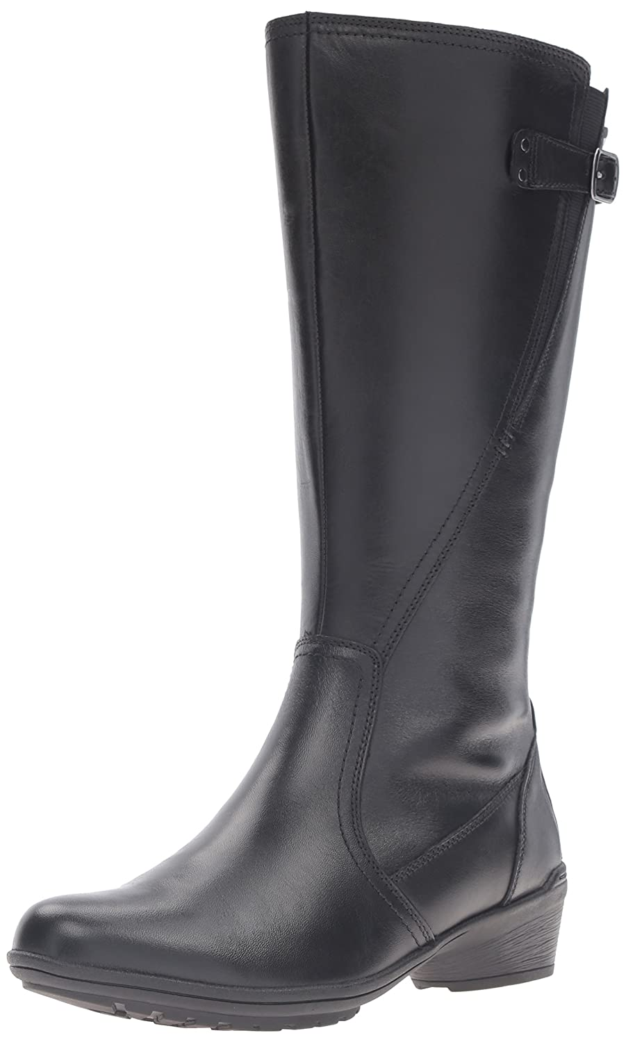 Cobb Hill Women's Rayna Wide Calf Rain Boot B01AKA78AE 8 W US|Black