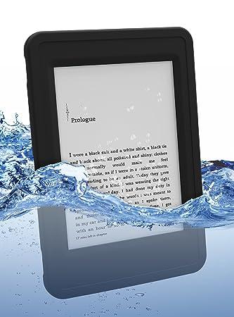 best website e8ab1 76c60 Incipio Atlas Waterproof Kindle Paperwhite Case, Black