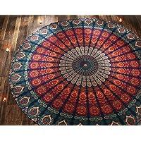 hippy mandala 挂毯嬉皮波西米亚壁挂抱棉质 bedsheet 墙壁艺术装饰 rajrang