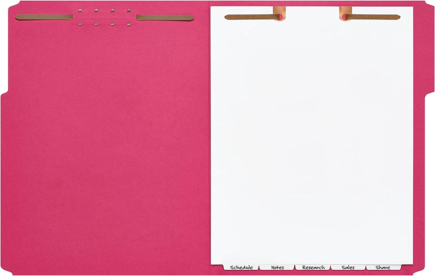 Avery Preprinted Dividers for 2-Prong Classification Folders Numbered 1-5 5-Tab Set 13162 Narrow Bottom Tabs