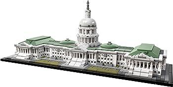 1032-Piece LEGO United States Capitol Building Kit