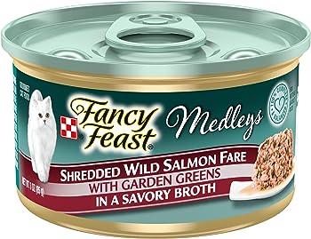 Best wet cat food fancy feast