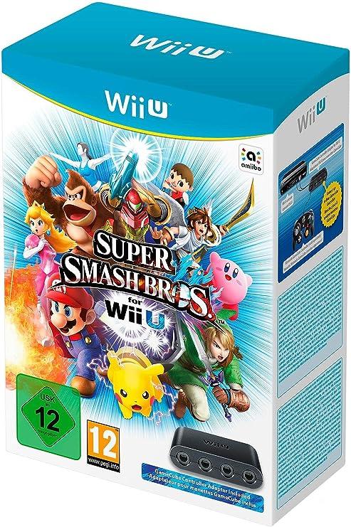 Super Smash Bros. (+ Adaptador GameCube Controller): Amazon.es: Videojuegos
