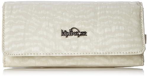 Kipling - Brownie, Carteras Mujer, Weiß (White Garden), One Size: Amazon.es: Zapatos y complementos