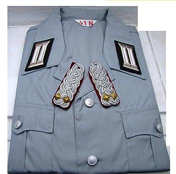 Unbekannt stasi Camisa Oberst Teniente, Uniforme Camisa Cuello Ancho 37, Original.: Amazon.es: Deportes y aire libre
