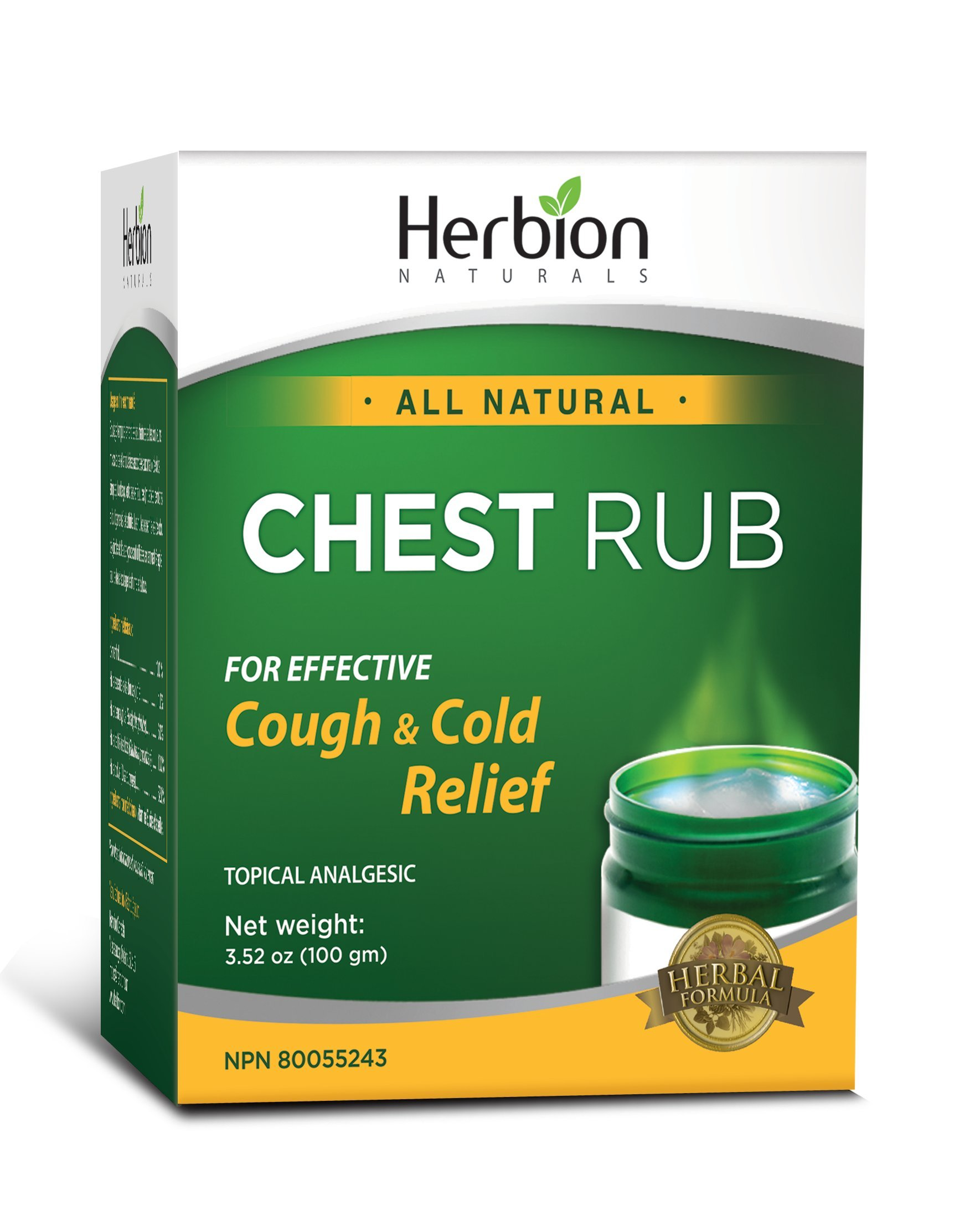 Herbion Naturals Chest Rub, 100 g