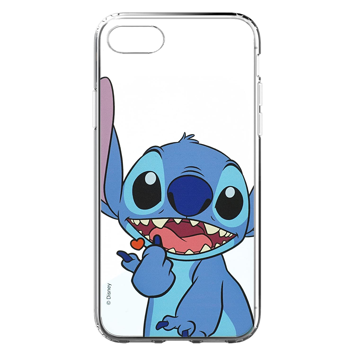 the latest 56c60 ba36d Amazon.com: iPhone 6S Plus/iPhone 6 Plus Case Disney Cute Soft Jelly ...