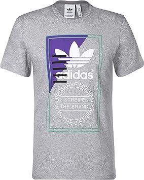 adidas Tongue Label 2 Men s T-Shirt  adidas Originals  Amazon.co.uk ... 69c5fee5e8
