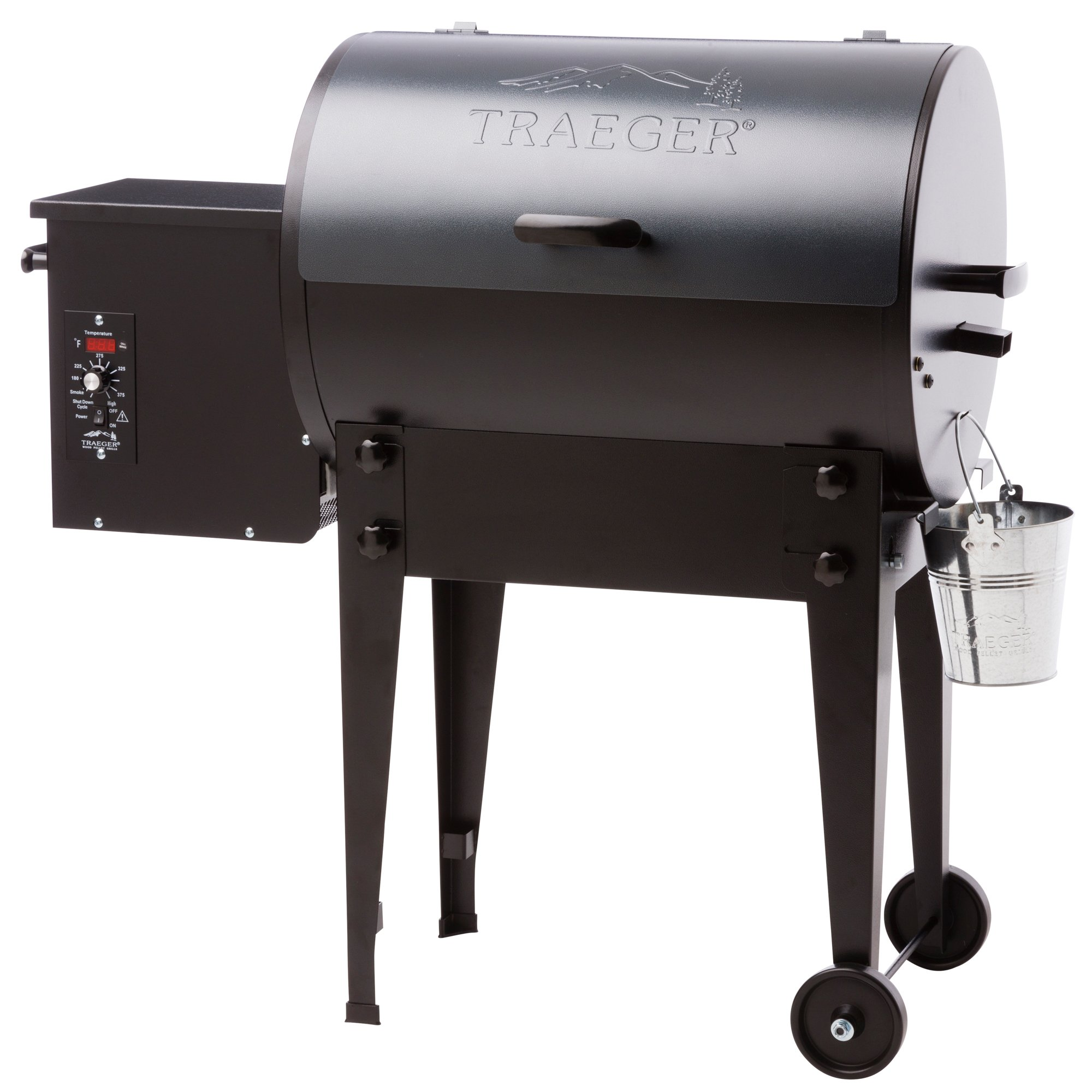 Traeger Grills Tailgater 20 Portable Wood Pellet Grill and Smoker - Grill, Smoke, Bake, Roast, Braise, and BBQ (Blue)