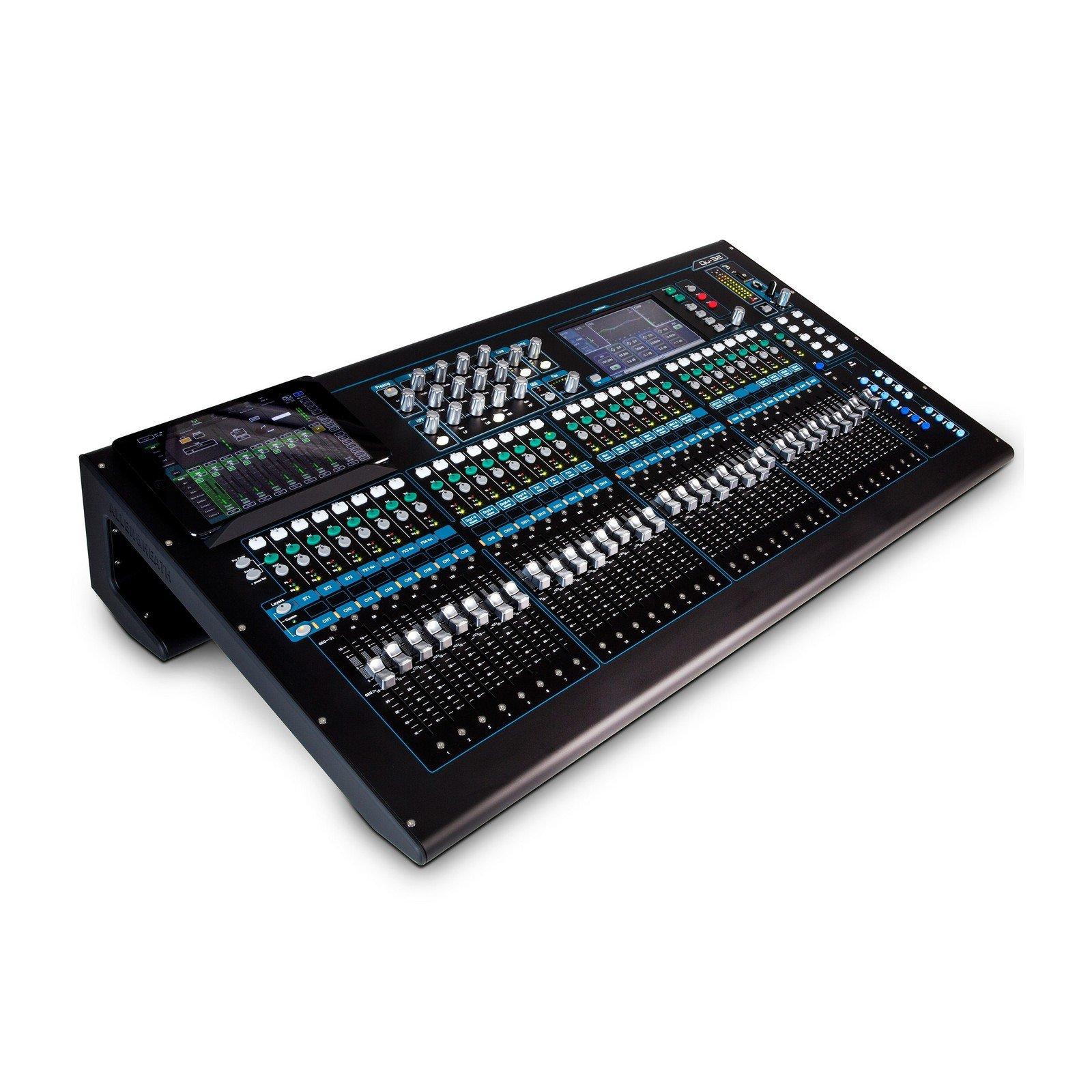 Allen & Heath QU-32C | 38 In 28 Out Digital Mixer Chrome Edition