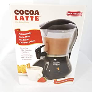 Cocoa Latte Hot Drink Maker By Back to Basics