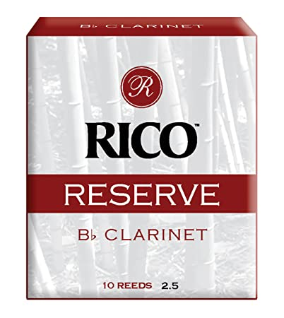 Twin pack Strength 2.5 or 3 or 3.5 Rico Reserve Alto Saxophone Reeds