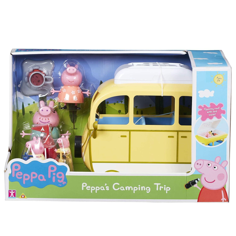 Peppa Pig 6922 Camping Trip Playset, Multi Character Options LTD