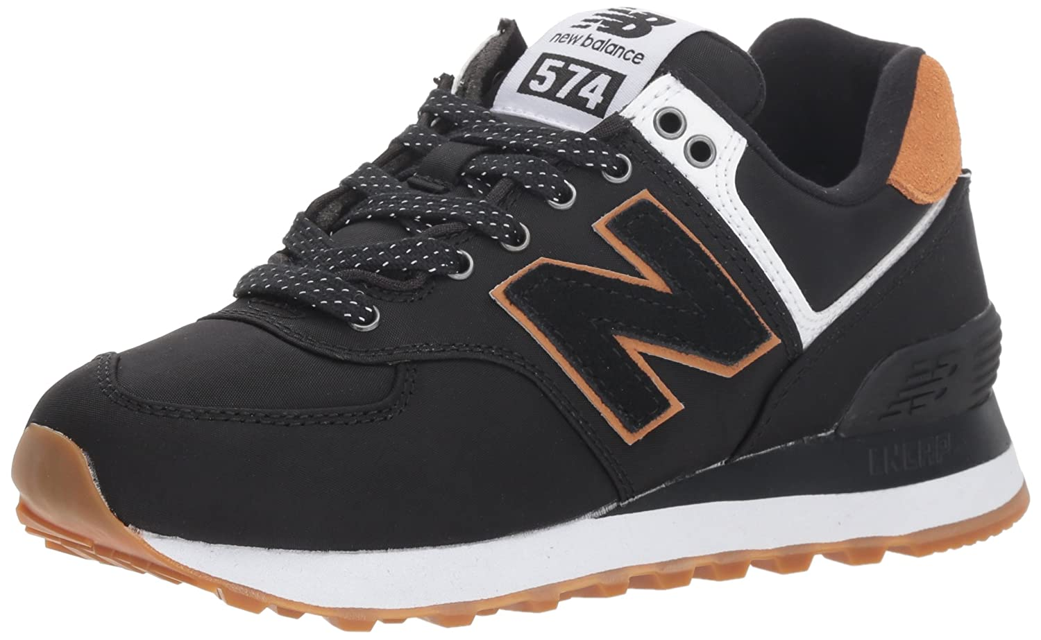 New Balance Women's 574v2 Sneaker B075R6Z1L8 8 D US|Black