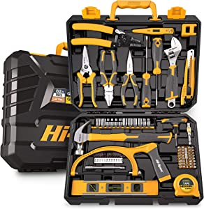 Hi-Spec 75 Piece Home & Garage Tool Kit Set. Full Set of Complete Repair & Maintenance Hand Tools for the Household, Office, Workplace & Workshop. All in a Storage Case