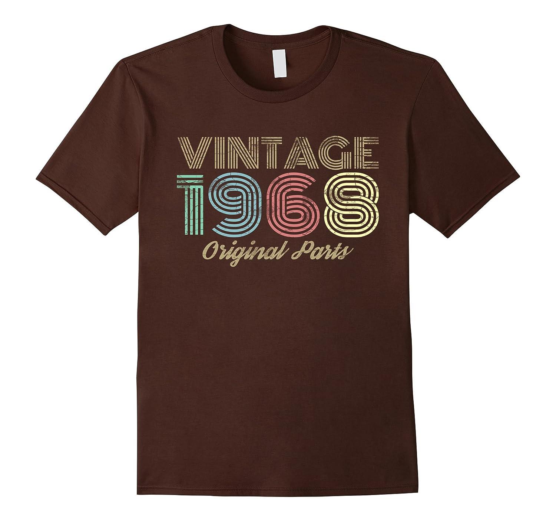 Vintage 1968 T Shirt Retro Birthday-Awarplus