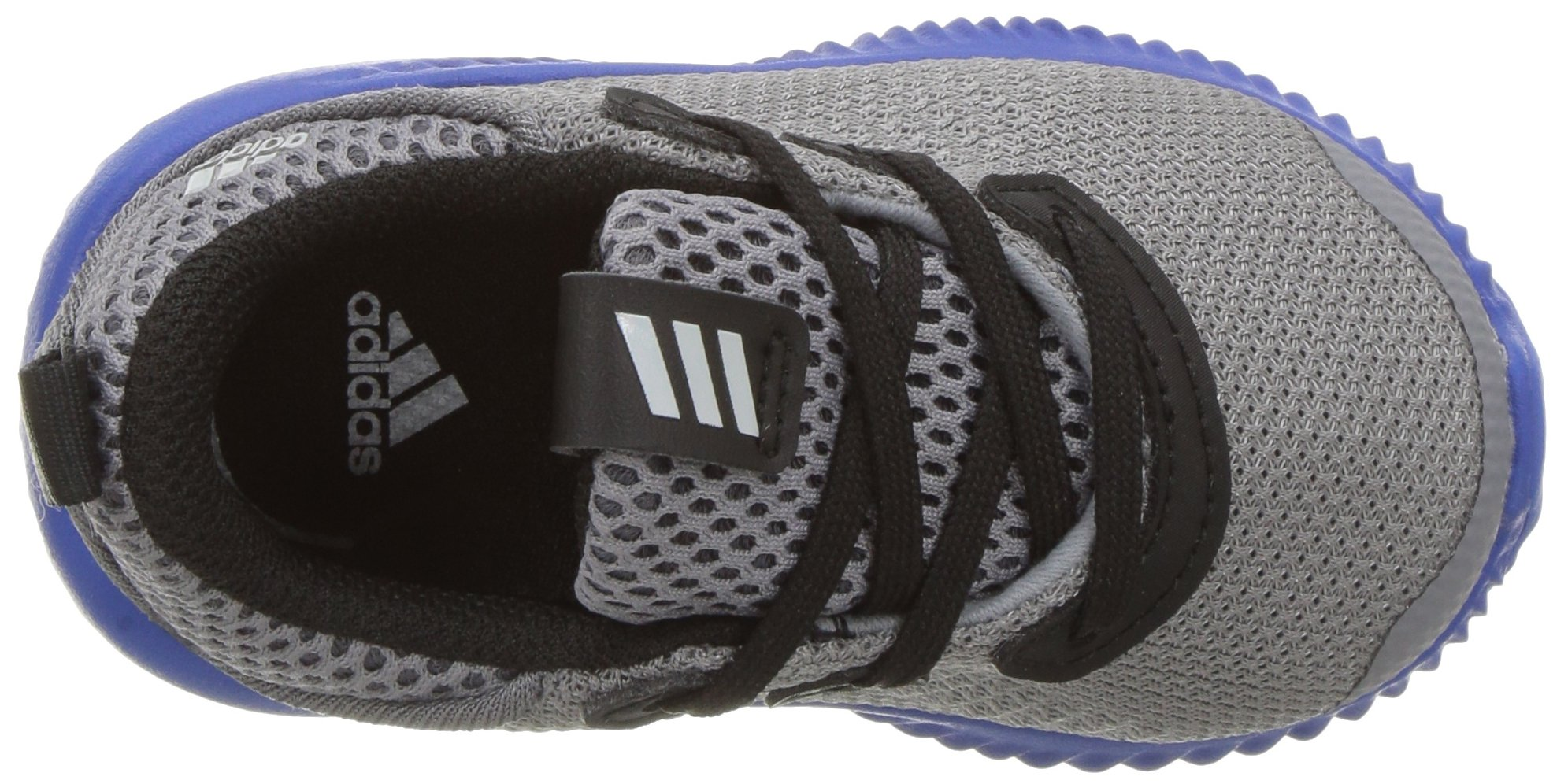 adidas Kids' Alphabounce Sneaker, Grey/Light Onix/Satellite, 7 M US Toddler by adidas (Image #8)