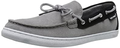 Cole Haan Men's Pinch Weekender Camp Moccasin Slip-On Loafer, Ironstone  Suede, 8