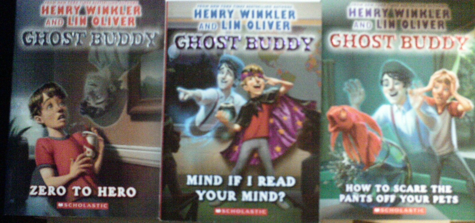 Download Ghost Buddy 3-book Set: Zero to Zero, Mind If I Read Your Mind?, How to Scare the Pants Off Your Pets [Paperback] pdf