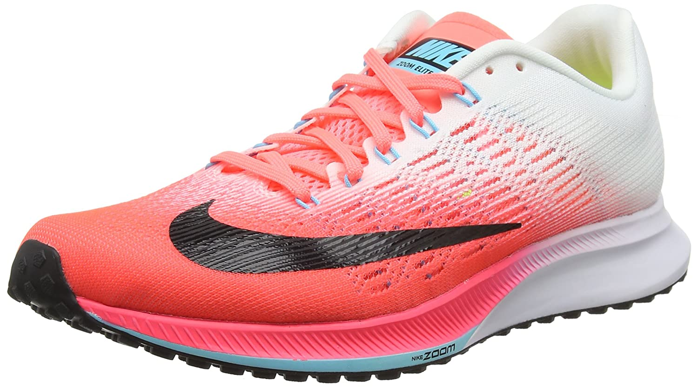 Nike Wmns Air Zoom Elite 9, Zapatillas de Running para Mujer 38 EU Rojo (Hot Punch/White/Lava Glow/Black)