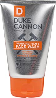 product image for Duke Cannon Supply Co. - Working Man's Face Wash, Smells Like Productivity (4 oz) Men's Clarifying Facial Cleanser, Premium Solution for All Skin Types - Energizing Citrrus