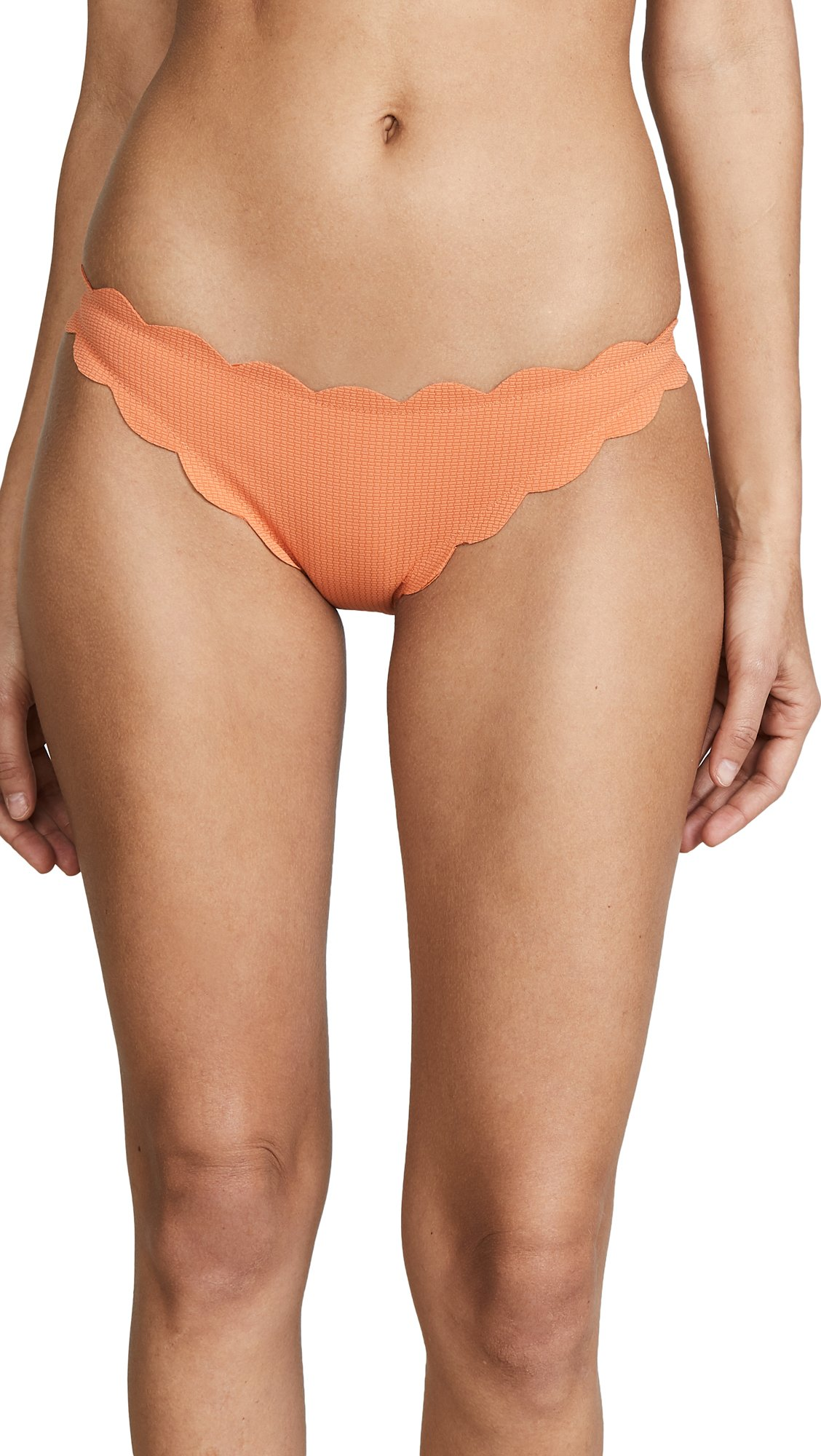 Marysia Swim Women's Antibes Bottoms, Terracotta, X-Small by Marysia Swim