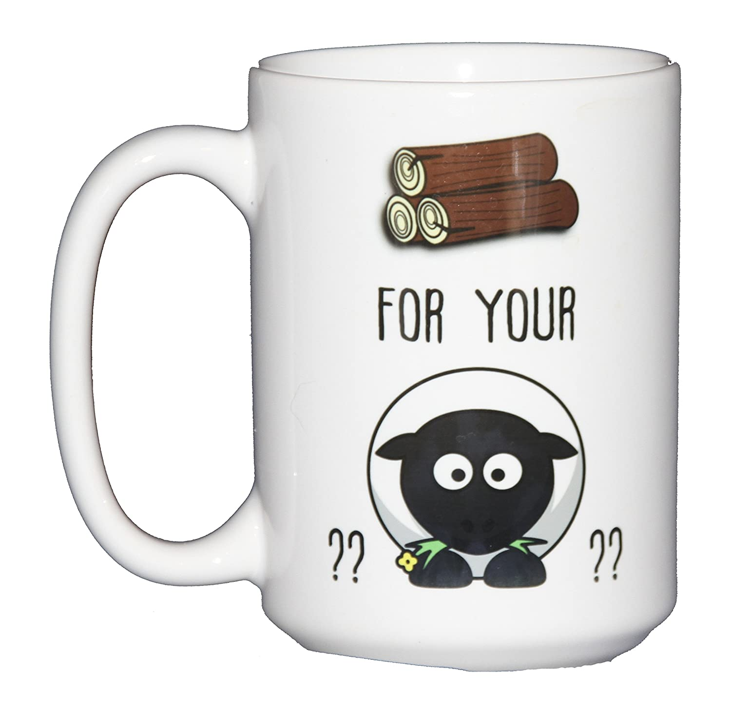 Wood for Your Sheep - Funny Coffee Mug for Board Game Geeks