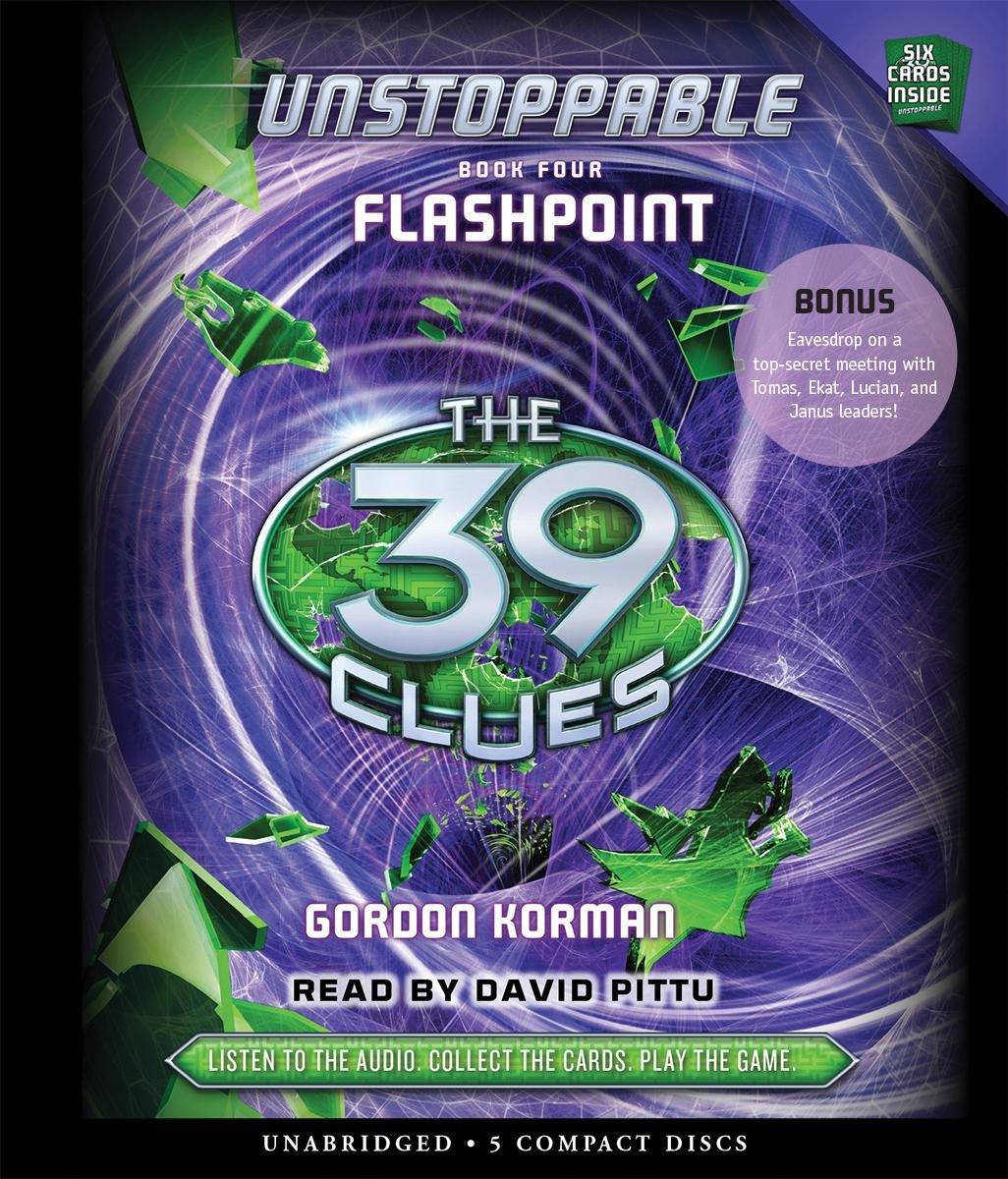 The 39 Clues: Unstoppable: Book 4 - Audio by Scholastic Audio Books (Image #1)