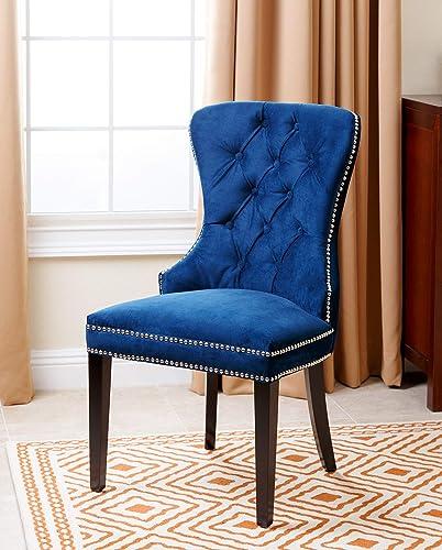 Abbyson Living Velvet Upholstered Dining Chair