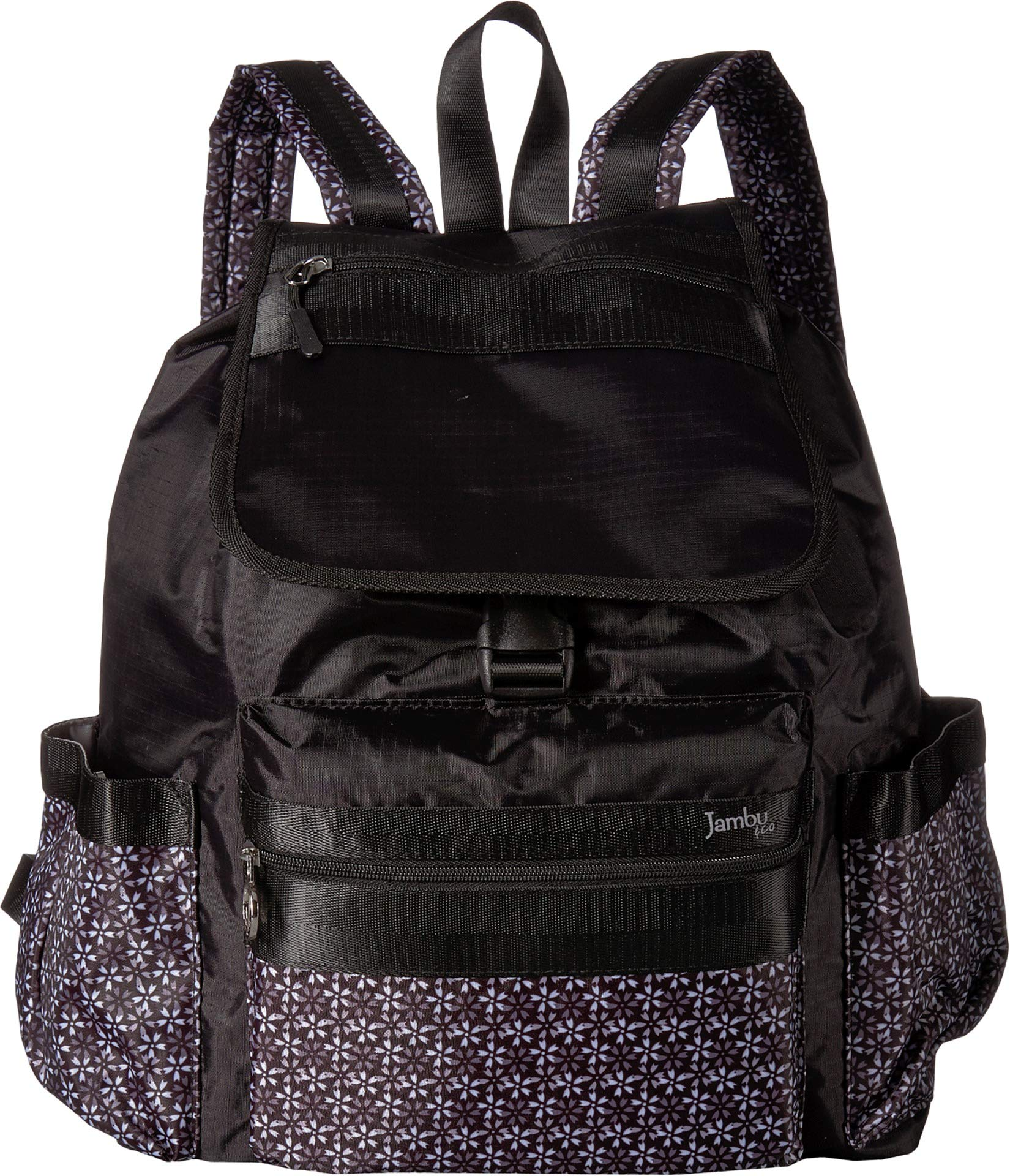 Jambu Women's Drawstring Backpack Black One Size