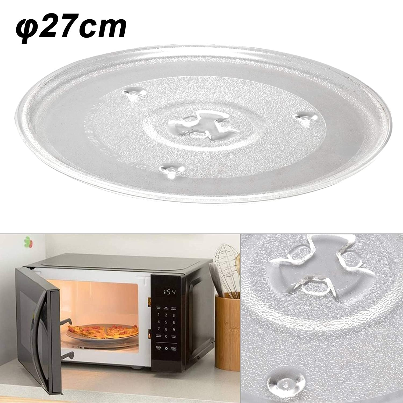 Balsshop - Plato giratorio para microondas (27 cm): Amazon.es ...