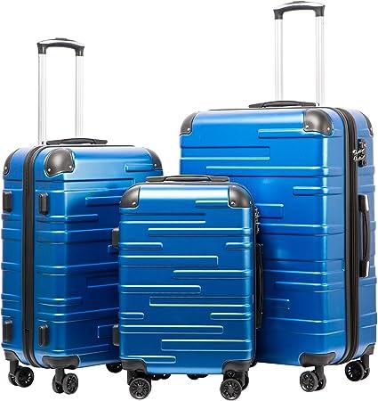 Coolife Sturdy Luggage Set