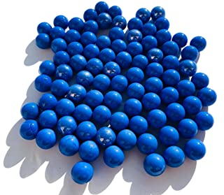 CRYSTAL KING - Sfere di Vetro Blu Opaco, Diametro 16 mm, 500 g