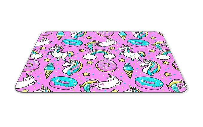 Impresionante rosa alfombrilla de ratón Pad - Unicornio gato ...
