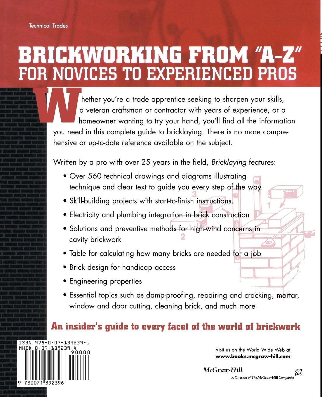 Bricklaying: Peter Cartwright: 9780071392396: Amazon.com: Books