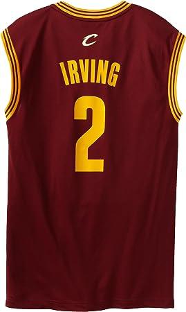 Observatorio Hundimiento Final  adidas NBA Cleveland Cavaliers Kyrie Irving # 2 la réplica de la Camiseta  de los Hombres, NBA, Hombre, Color Road, tamaño 3XL: Amazon.es: Deportes y  aire libre