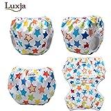 Luxja Reusable Swim Diaper (Pack of 2), Adjustable