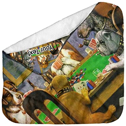 Amazon.com: YouCustomizeIt Dogs Playing Poker by C.M. ...