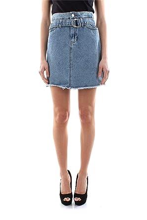 Guess W01D93 D3Y03 Paper Faldas Mujer: Amazon.es: Ropa y accesorios