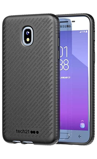 new concept e5aa8 91f19 Amazon.com: Tech21 Evo Shell Hard Case for Galaxy J3 (3rd Gen) & J3 ...